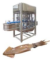 Máquina limpieza de chipirón